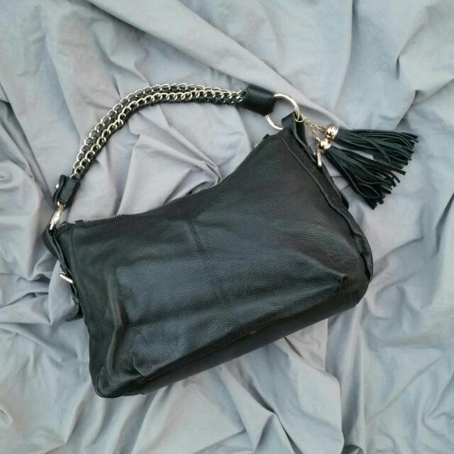 TILKAH Leather Handbag