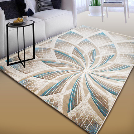 Turkish Art Carpet Perspective Pattern Modern Minimalist Living Room Coffee  Table Carpet Bedroom Bedside Carpet ...