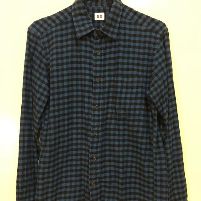 Uniqlo法蘭絨襯衫S