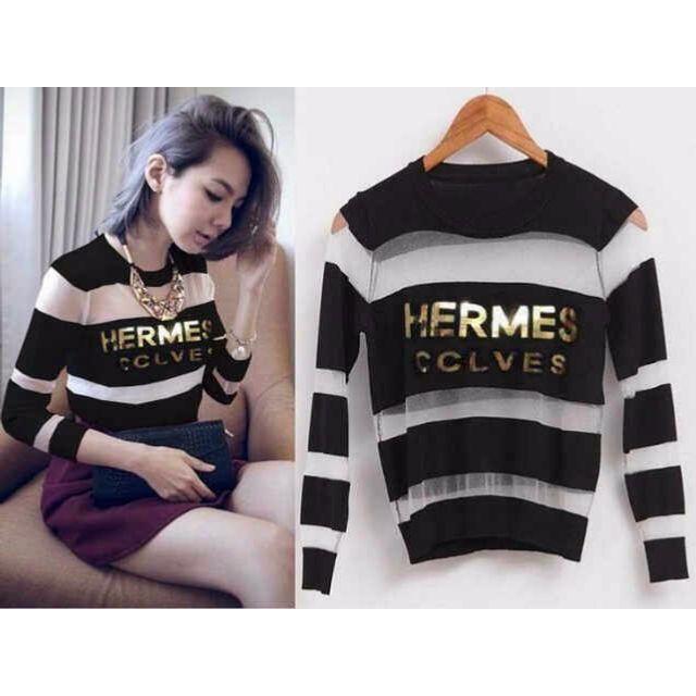 v new shirt hermes