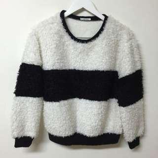 韓國夯款條紋衣