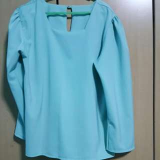 Pre Loved LONG SLEEVE Blouse (Sold )
