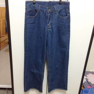 🔹牛仔寬褲🔹