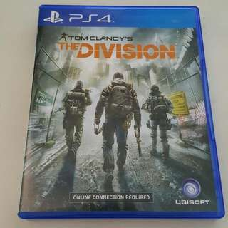 The Division Ps4 temporary reserved