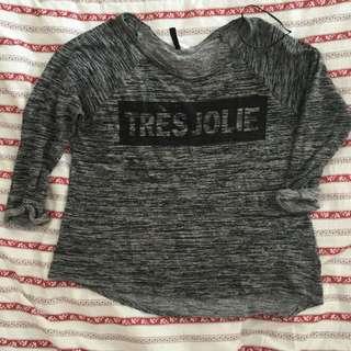 🌺H&m Tres Jolie Longsleeve Shirt / Top