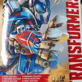 Optimus Prime AOE First Edition Leader Class