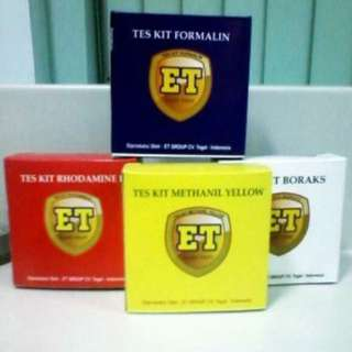 Test Kit 4 Varian Easy Test Murah