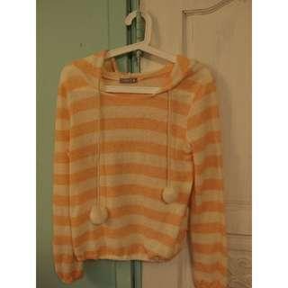 毛毛球可愛睡衣