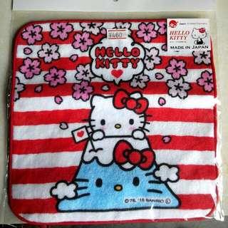 💟含運💟正版日本HELLO KITTY小方巾