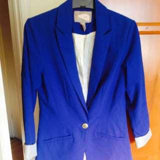 Cobalt Blue Blazer