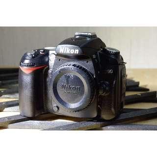 Nikon D90 with SIGMA 18~50 lens