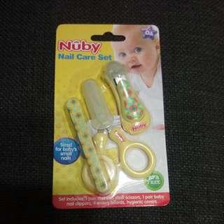 全新NUBY寶寶指甲護理組
