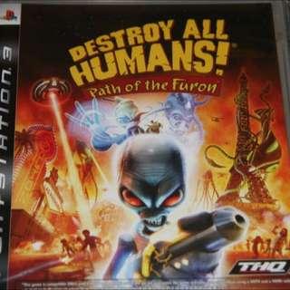 PS3 毀滅全人類---種族之戰