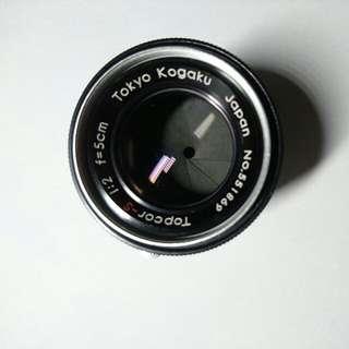 Tokyo Kogaku Topcor-S 50mm f/2 LTM