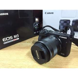 Canon EOS M3 EF-M 18-55mm Kit + EVF (Electronic View Finder)