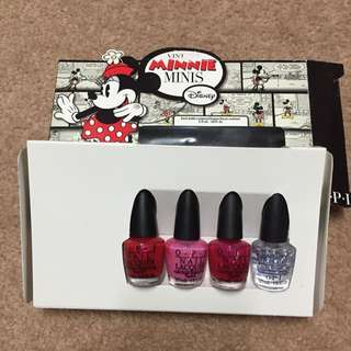 OPI Minnie Set (red, Pink)