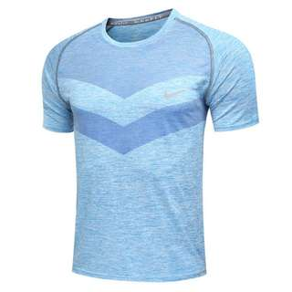 [Bestseller] Nike Men Flynit Athletic Crew neck sports shirt