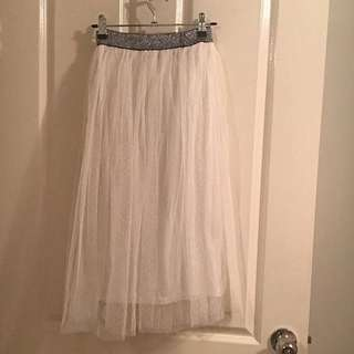 Fairytale Tulle Midi Skirt (lined) Size S 8-10