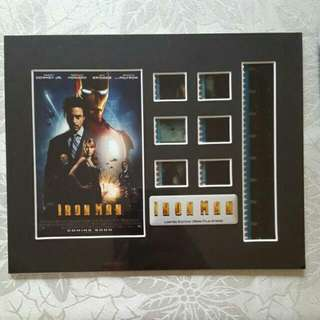 iron man 1 and 2 film cells