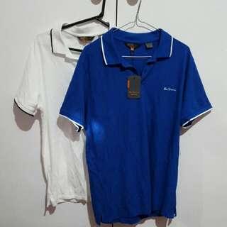 2× ben sherman polo shirts