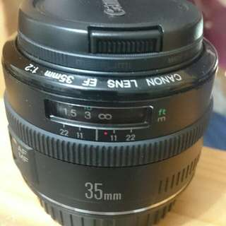 Canon EF35mm f/2.0