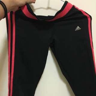 Adidas7分運動褲