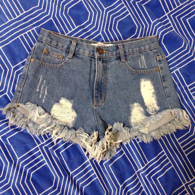 🔹高腰牛仔短褲🔹