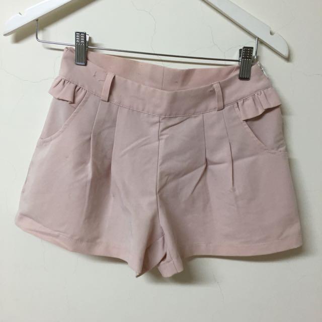 韓粉嫩短褲