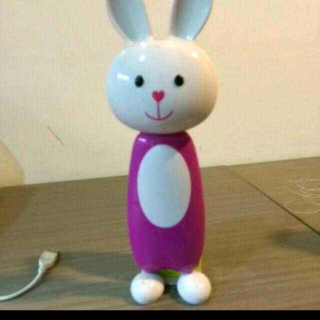 可愛兔子 USB 三段式檯燈