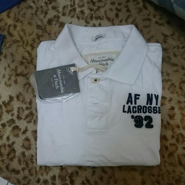 A&F Polo 衫 短袖 全新正品