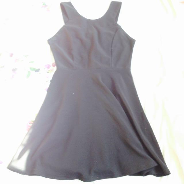Black A Line Dress