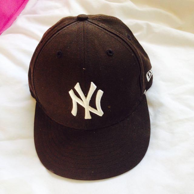 Black Yankees Hat (59fifty)