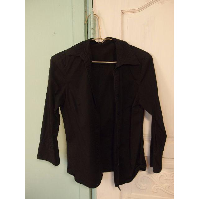 Bossini 黑襯衫七分袖