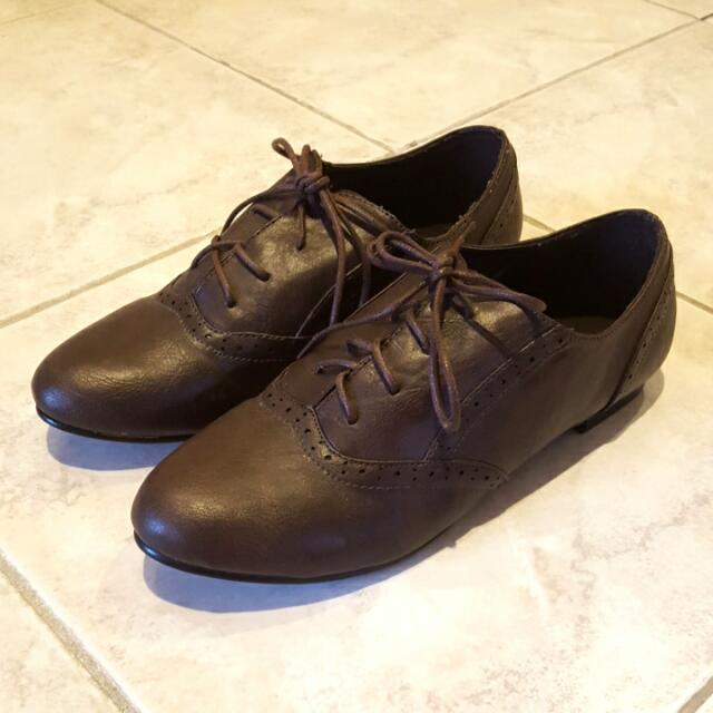 Brown Ally Shoes