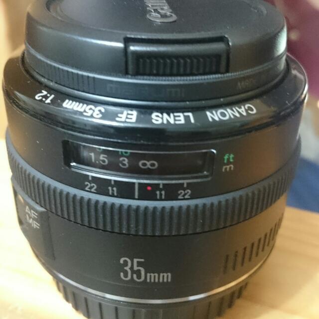 Canon EF35mm f/2.0