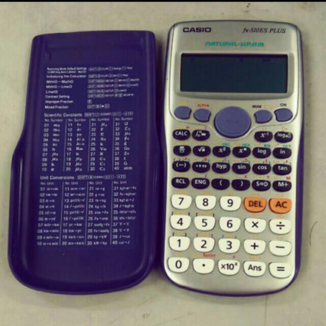 CASIO卡西歐 fx-570ES PLUS工程型計算機