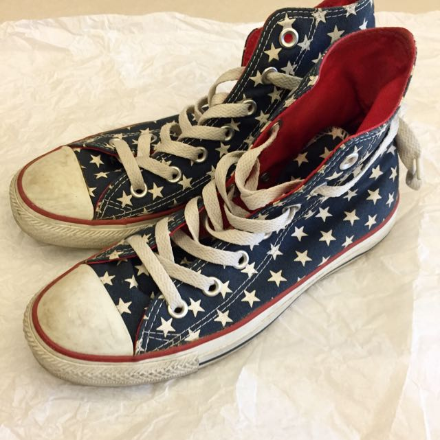 降價!!Converse All Star 星星高筒帆布鞋