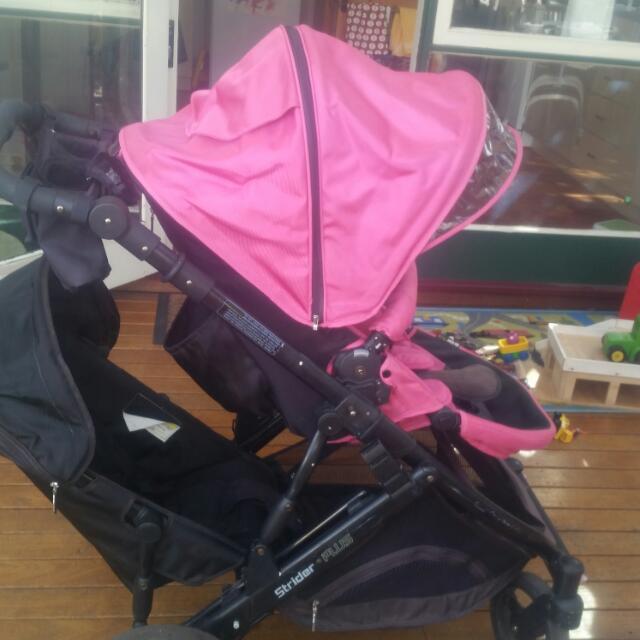 Hot Pink Steelcraft Strider Plus 4