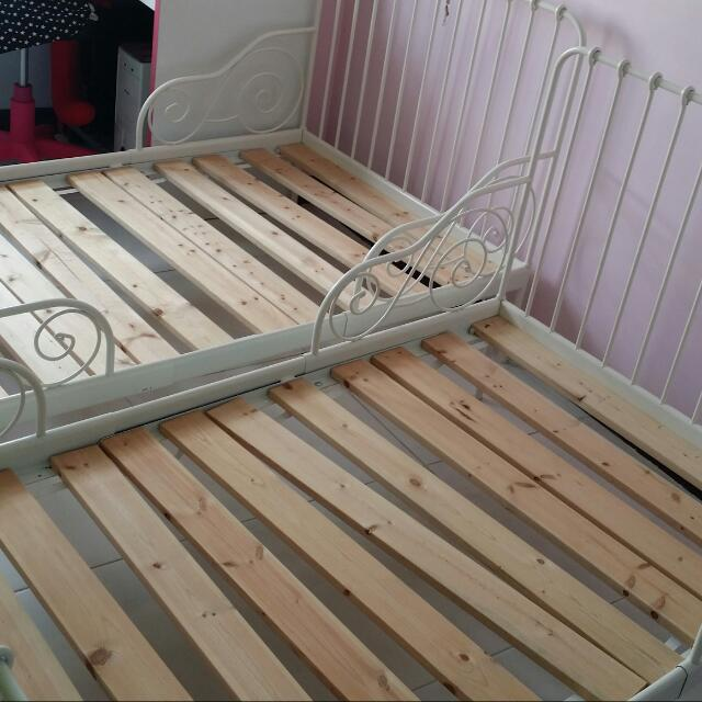~~Price Drop~~ Ikea Children's Extendable Bed Frame (Will Throw Away After 2 Days)