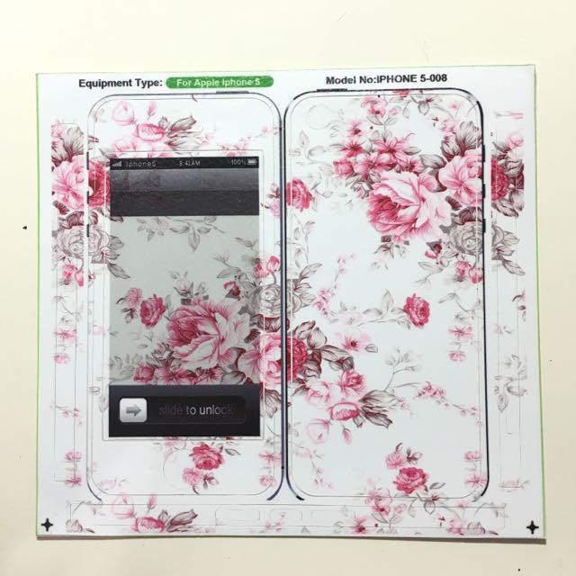 ✨(含運)iPhone 5/5s手機貼膜