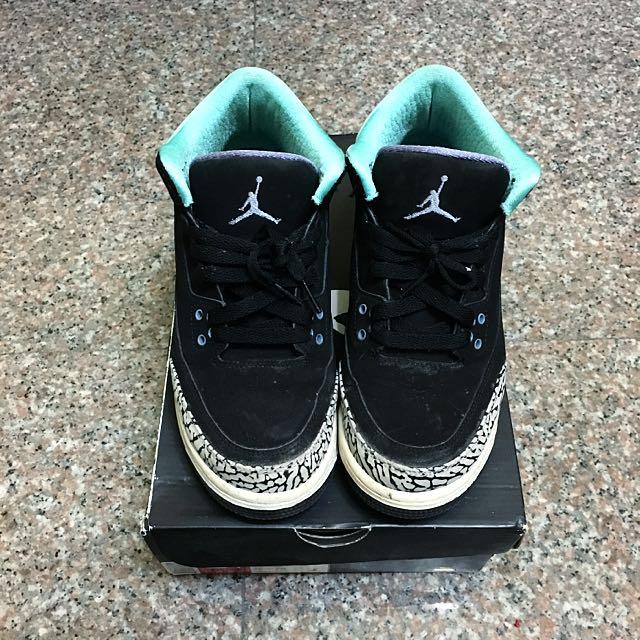 Jordan 3代 蒂芬妮綠💚💚💚