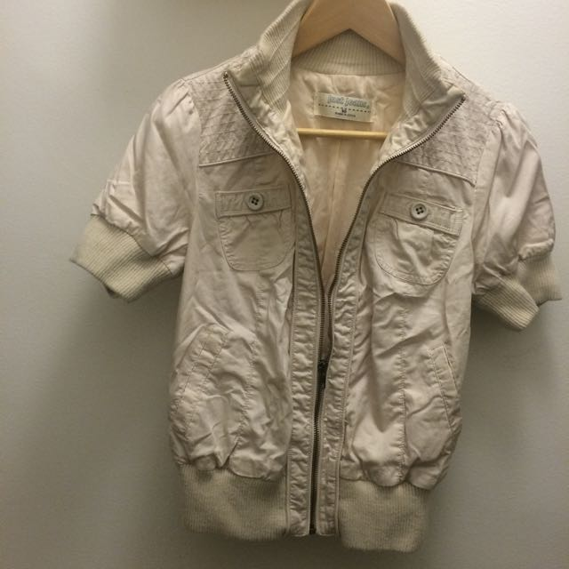 Just Jeans Bomber Jacket - Size 10
