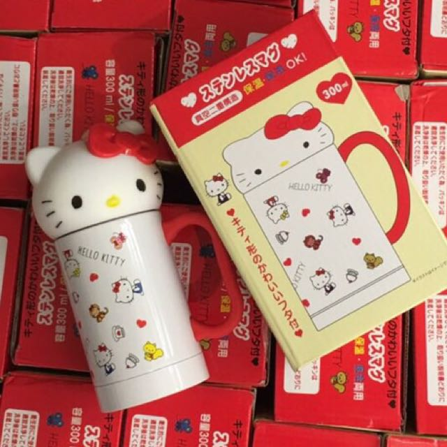 Kitty 不鏽鋼保溫/保冷馬克杯 (12小時$