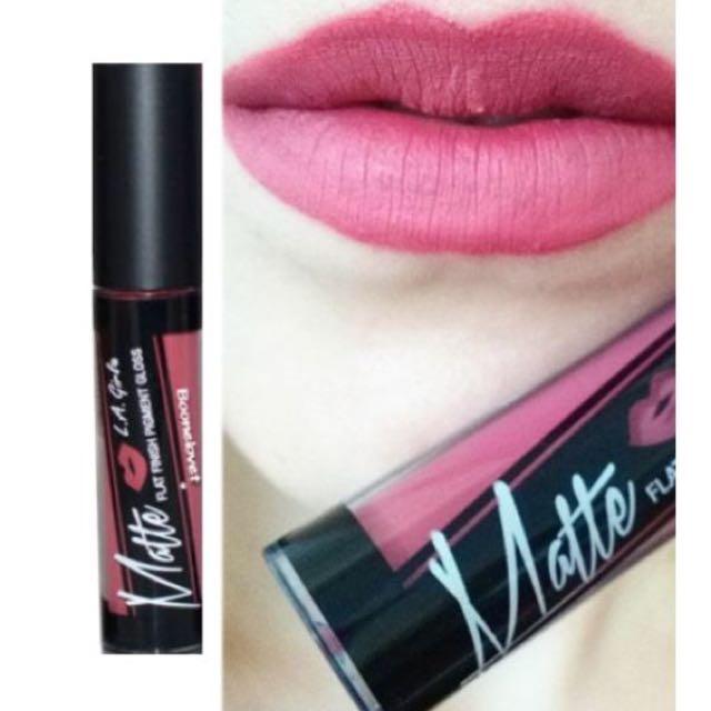 La Girl Matte Lipgloss (shade Bazaar)