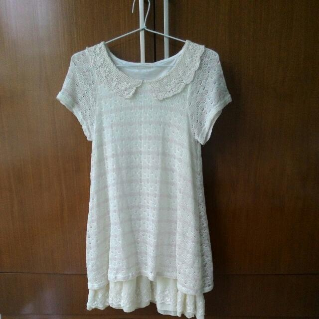 Lace Knit Dress