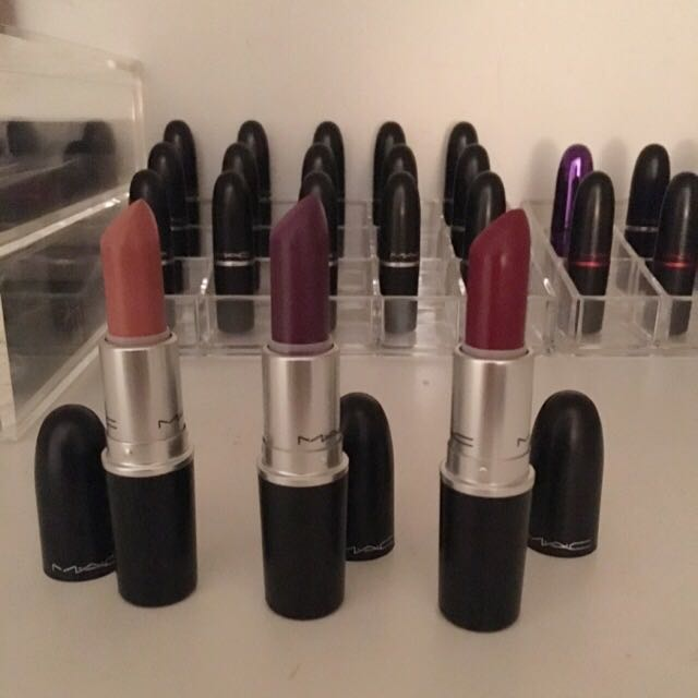 Mac Lipsticks- 100% Authentic (ON HOLD)