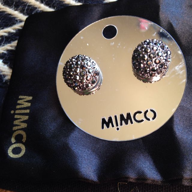 Mimco Jewel Stud Brand New