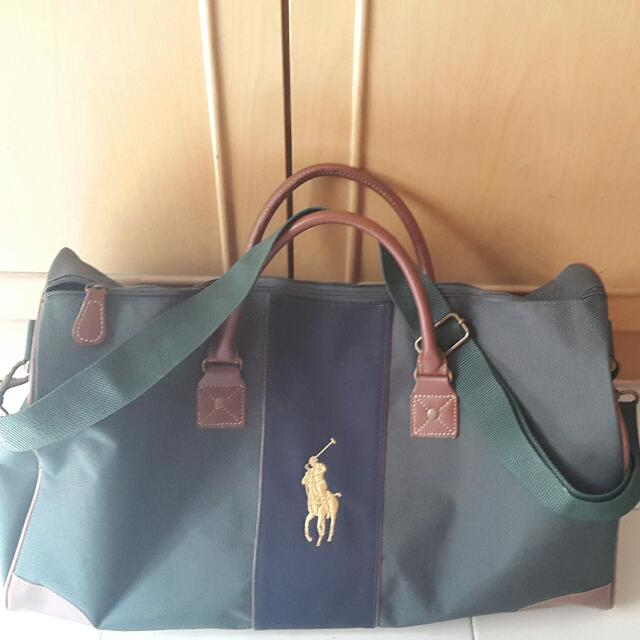 b7cada798079 ... promo code for polo ralph lauren duffle bag everything else on  carousell 7fb65 32573 canada ralph lauren green ...