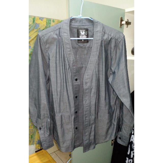 REMIX 浮水印襯衫 (薄的)  S號 篇大約M可穿