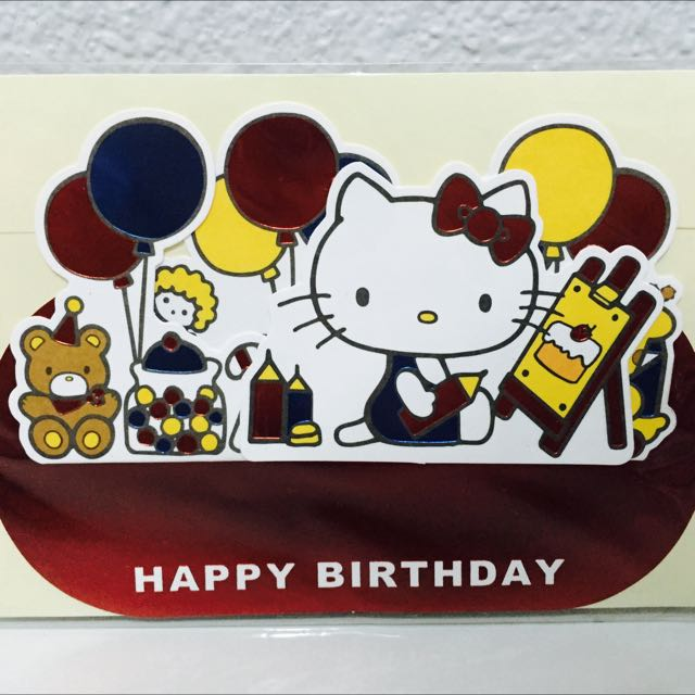 Sanrio hello kitty greeting card everything else on carousell photo photo photo m4hsunfo